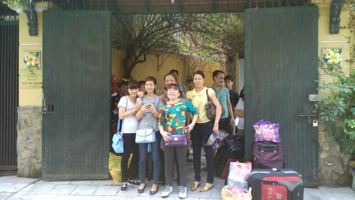 Lao động đi giúp việc Macau xuất cảnh