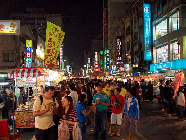 Chợ đêm Xin Jue Jiang Cao Hùng