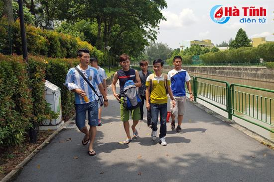 giao lưu the thao nguoi ha tinh o singapore