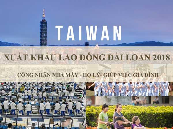 công ty xuất khẩu lao động đài loan uy tín tại hà nội năm 2018